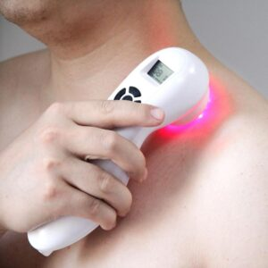 Shoulder red light therapy